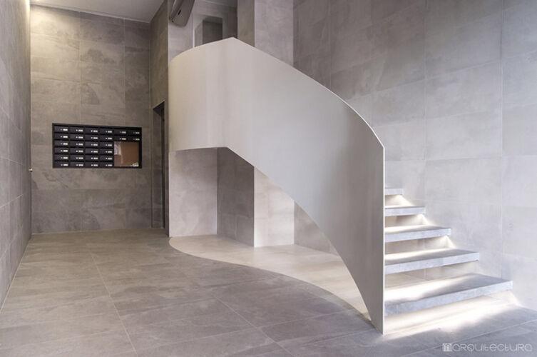 La escalera como elemento estructural